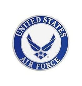 MidMil United States Air Force Wing Emblem Pin 1 1/2""