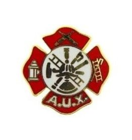 MidMil Fire Department Auxiliary Logo Pin 1""