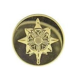"""MidMil Army Military Intelligence Collar Device Pin 1 1/16"""""""