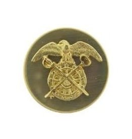MidMil Army Quartermaster Corps Collar Device Pin 1-1/16""