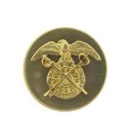 "MidMil Army Quartermaster Corps Emblem Pin 1 1/16"""