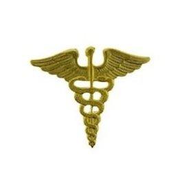 """MidMil Army Medic Caduceus Pin 1 1/8"""""""