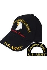 MidMil U.S. Army 101st Airborne Division Hat w/ Motto Black