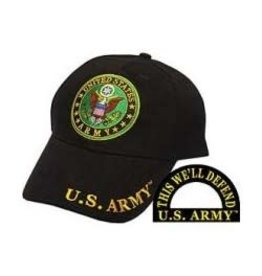 MidMil Army  Seal  Hat Black