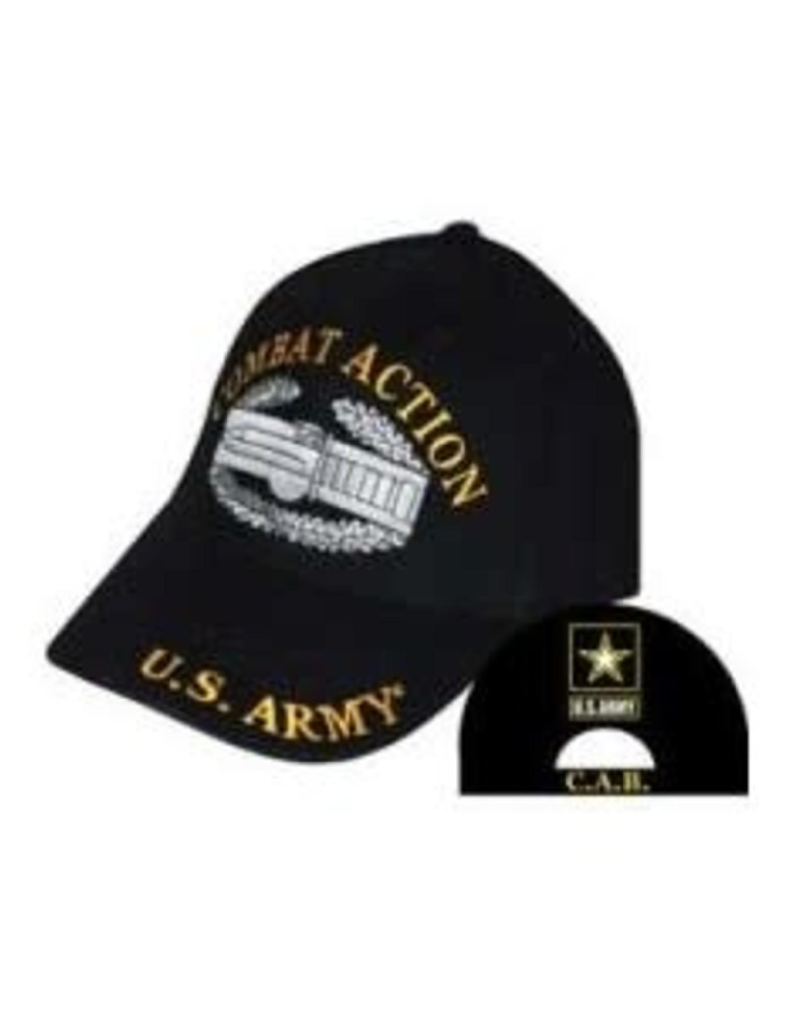 MidMil Army Combat Action Hat with Emblem Black