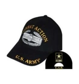 MidMil Army Combat Action Hat with Emblem Black
