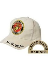 MidMil Marines Seal Hat Khaki