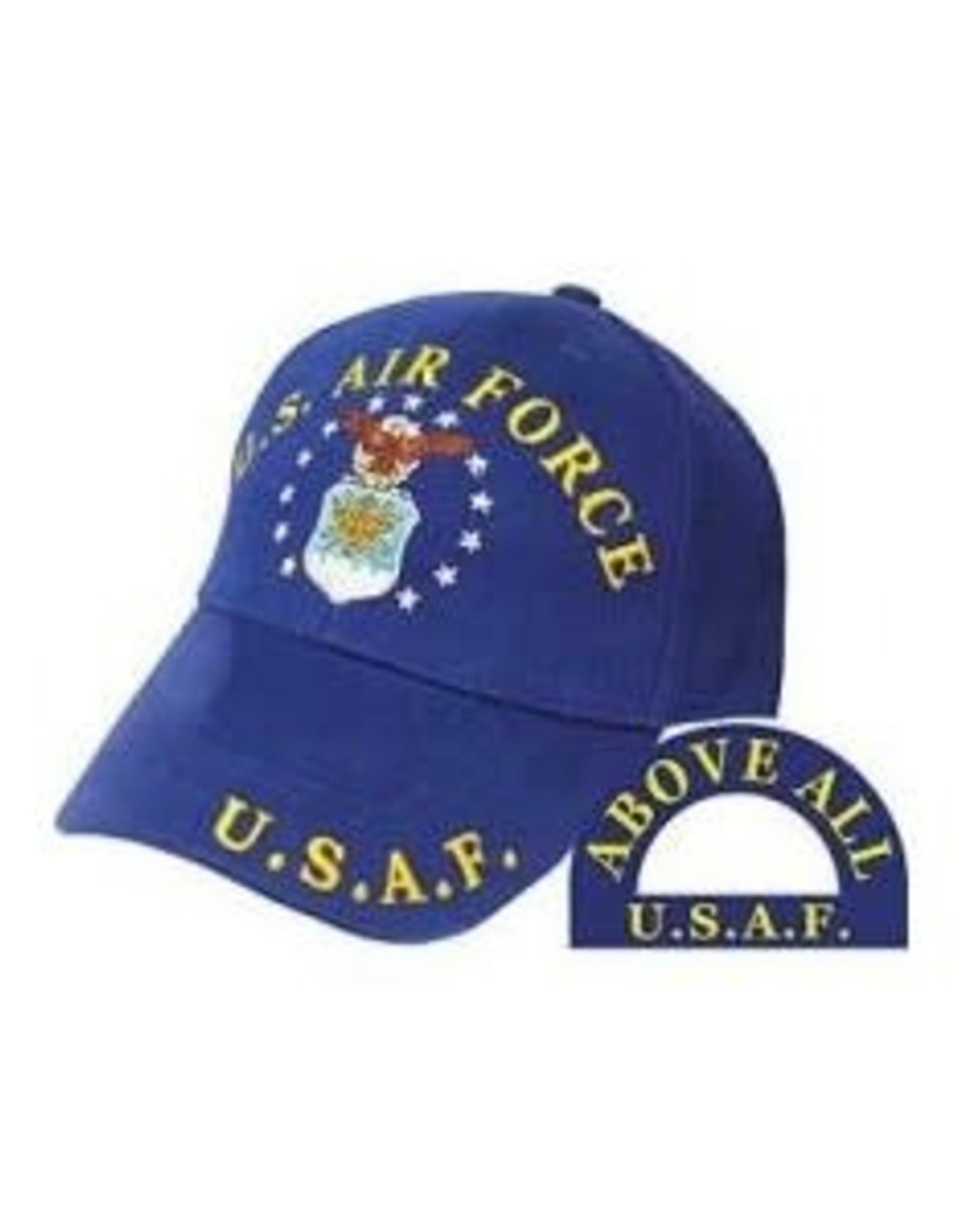 MidMil Air Force Hat with Emblem Dark Blue