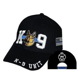MidMil Police K-9 Unit Hat Black