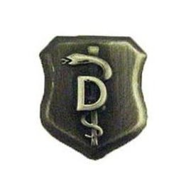 "MidMil Air Force Dentist Pin. 3/4"" tall"