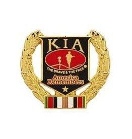 Afghanistan KIA Wreath Pin