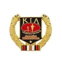 MidMil Afghanistan KIA Wreath Pin