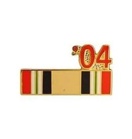 MidMil Iraq Campaign Ribbon '04 Pin 7/8""
