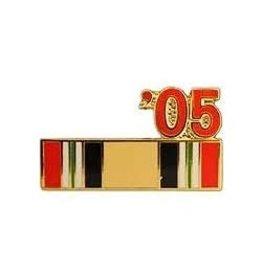 """MidMil Iraq Campaign Ribbon '05 Pin 7/8"""""""