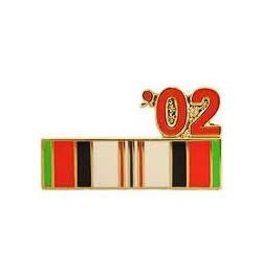 "Operation Enduring Freedom Campaign Ribbon '02 Pin 7/8"""