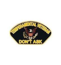 "MidMil Temperamental Veteran - Don't Ask Pin 1 1/4"""