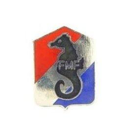 "MidMil 13th Marine Defence Battalion Emblem Pin 1"""