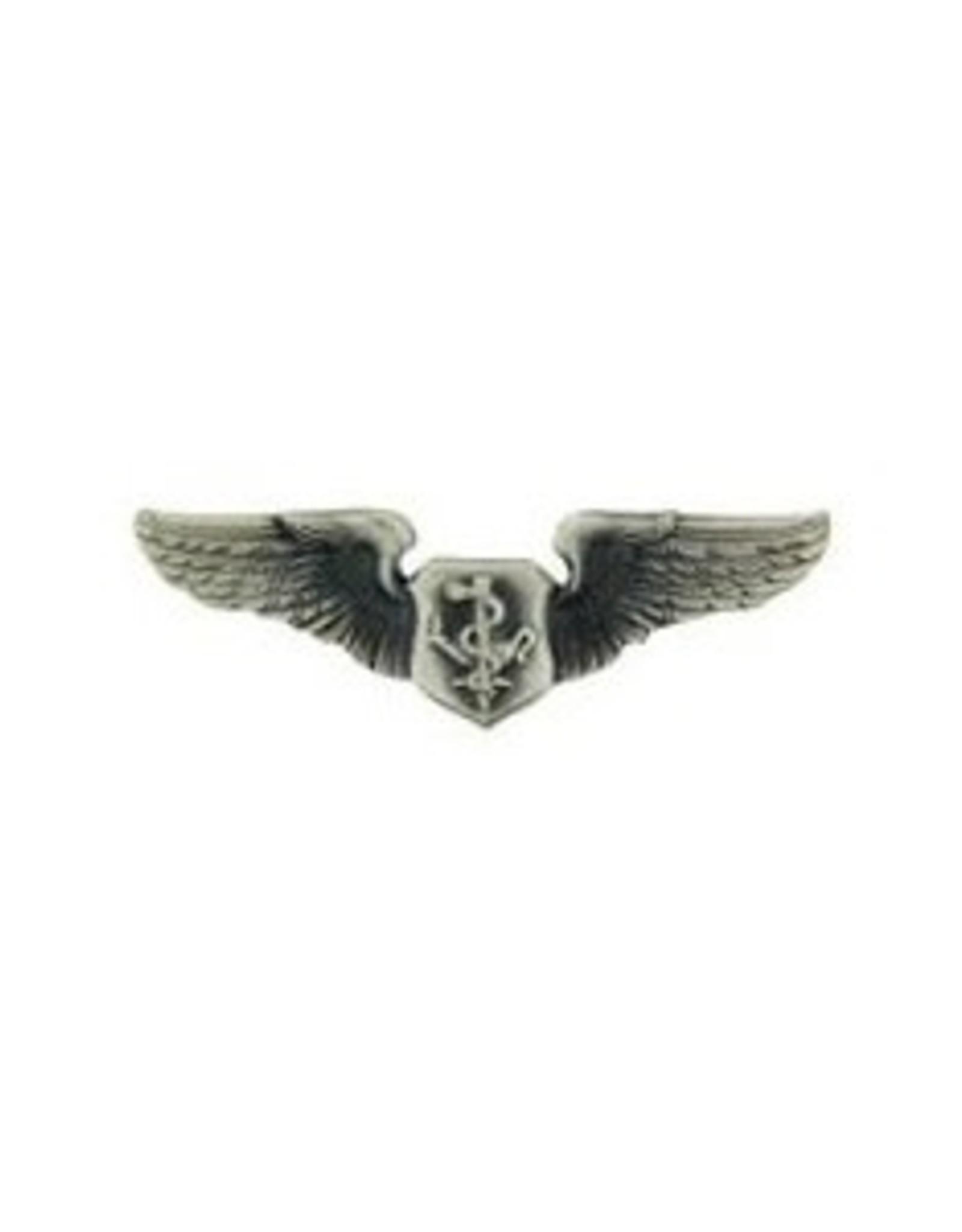 "MidMil Air Force Flight Nurse Wings Pin 1.25"""