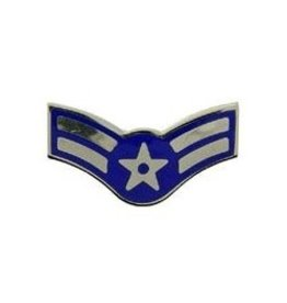 MidMil Air Force Airman Rank Pin