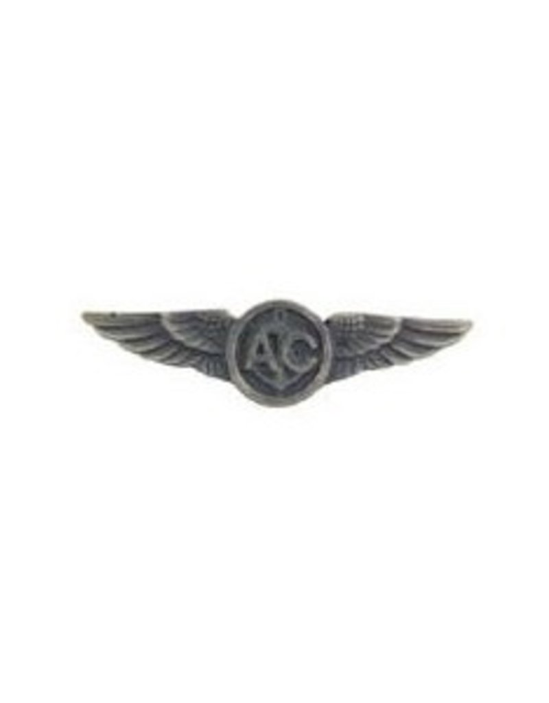 MidMil Navy Air Crew A/C Wings Pin 1 1/2""