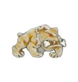 MidMil Marine Corps Devil Dog (colored) Pin 1""