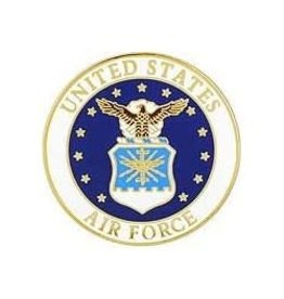 MidMil Air Force Seal Pin