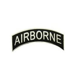 "MidMil Army Airborne Tab Pin 1 1/8"""