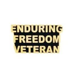 Enduring Freedom Veteran Pin