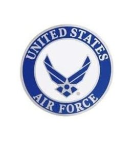 MidMil United States Air Force Wing Emblem Pin 1""
