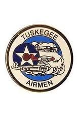 "MidMil Tuskegee Airmen Pin 1"""