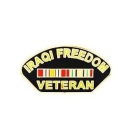 MidMil Iraqi Freedom Veteran Pin 1 1/4""