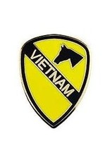 """MidMil 1st Cavalry Division Vietnam Pin 1"""""""