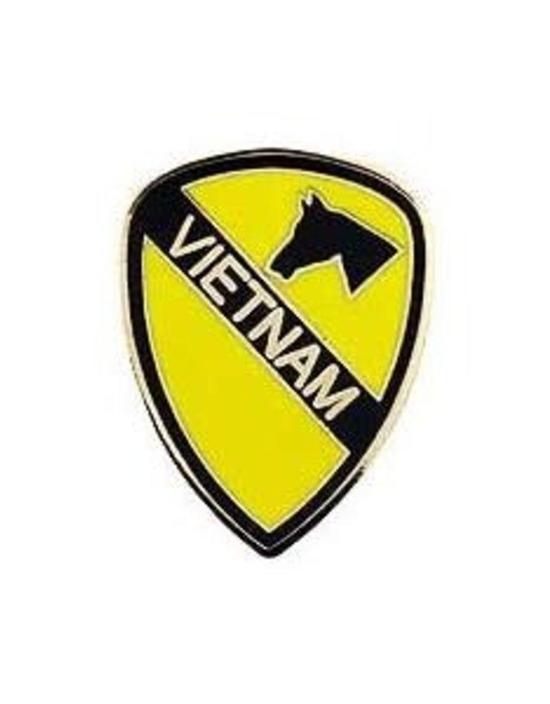 "MidMil 1st Cavalry Dvision Vietnam Pin 1"""