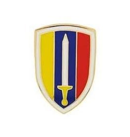 MidMil Army Ground Forces Vietnam Emblem Pin 1""