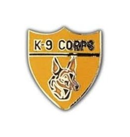MidMil Army Police K-9 Corps Pin 1""