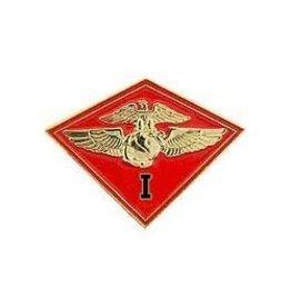 "1st Marine Aircraft Wing MAW Emblem Pin 1 1/8"""