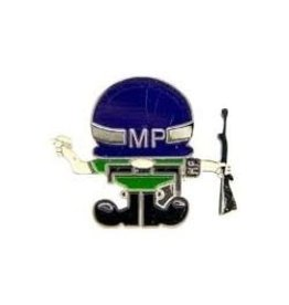 MidMil Army Police MP Character Pin 1""