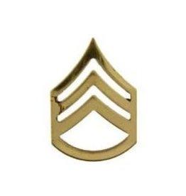 "MidMil Army Staff Sergeant (E-6) Rank Pin 1"""