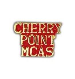 "Cherry Point MCAS Text Pin 1"""