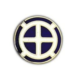 """MidMil 35th Infantry Division Emblem Pin 7/8"""""""