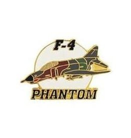 MidMil F-4E Phanton II Airplane Pin 1 1/2""