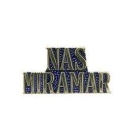 """NAS MIRAMAR Text Pin 1"""""""