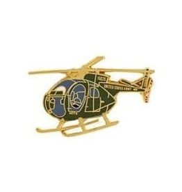 MidMil Army Helicopter Loach OH-6A Pin 1 1/4""