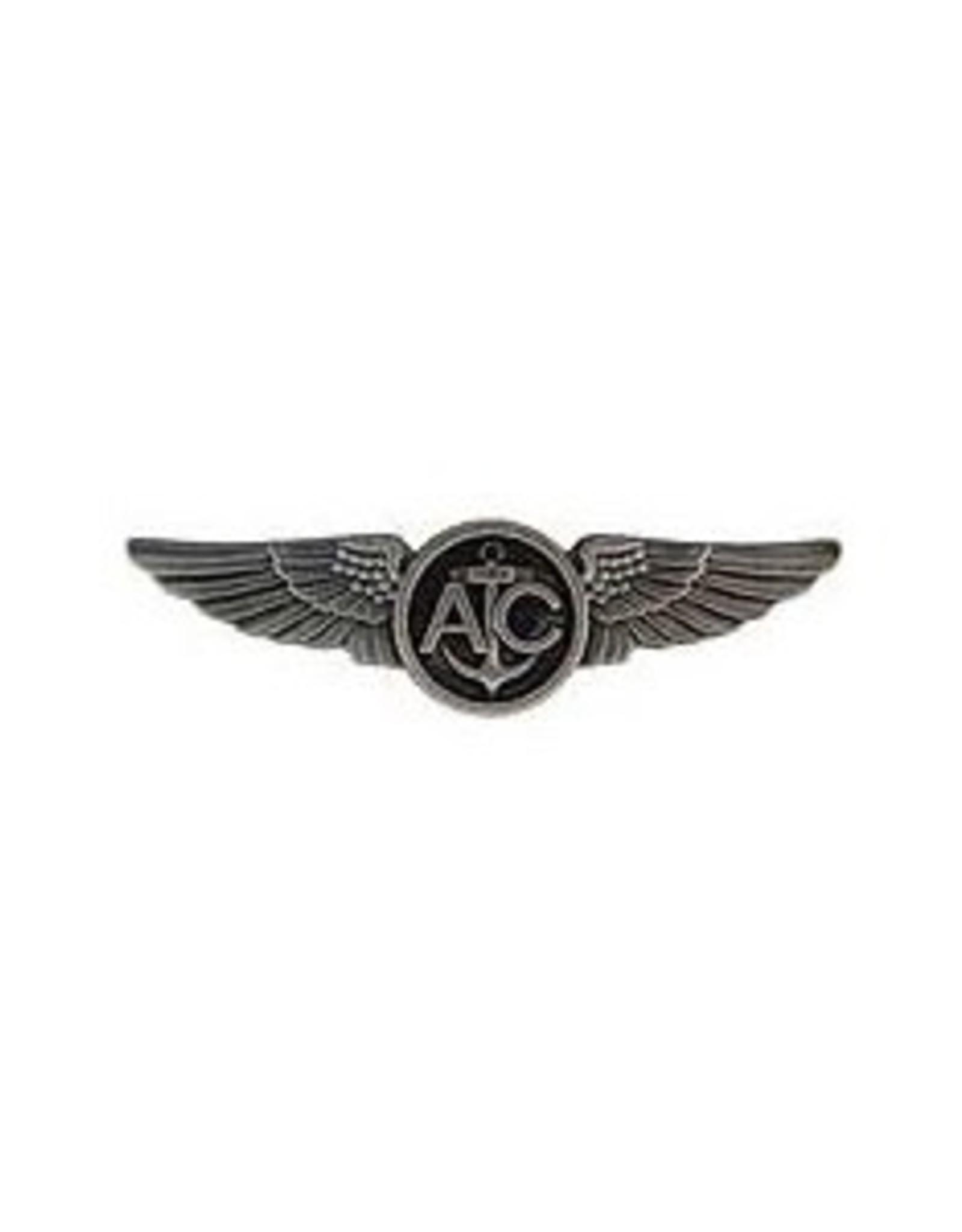 "MidMil Navy Air Crew Wings Pin 2 3/4"""