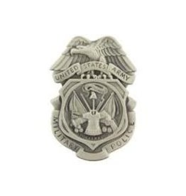 MidMil Army Police Badge Pin Regulation Size 2 3/4""