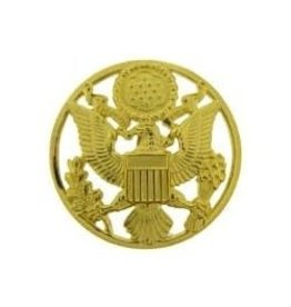 """MidMil Army Seal Enlisted Hat Pin 1 7/8"""""""