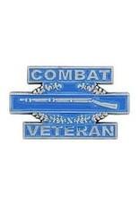 """MidMil Combat Infantry Badge """"Combat Veteran"""" Pin 1 1/4"""""""