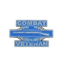 "MidMil Combat Infantry Badge ""Combat Veteran"" Pin 1 1/4"""