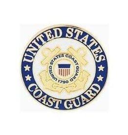 "Coast Guard Seal Pin 1"""