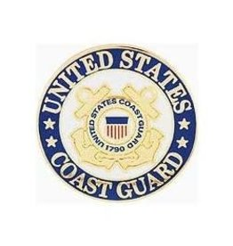 MidMil Coast Guard Seal Pin 1""